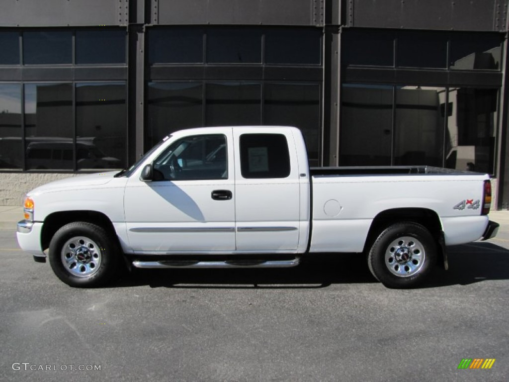 summit white 2005 gmc sierra 1500 sle extended cab 4x4 exterior photo 54676632. Black Bedroom Furniture Sets. Home Design Ideas