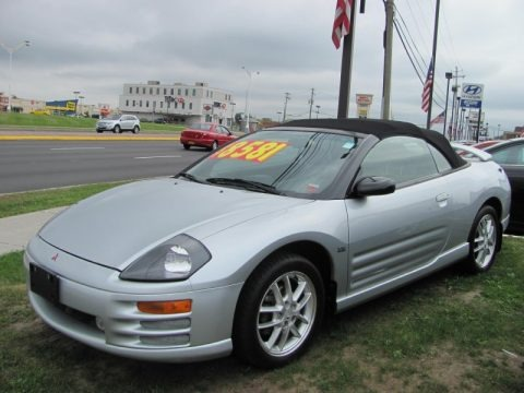 2001 Mitsubishi Eclipse Spyder Gt Data Info And Specs