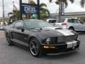 2007 Black Ford Mustang Shelby GT Coupe  photo #2