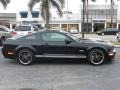 2007 Black Ford Mustang Shelby GT Coupe  photo #3