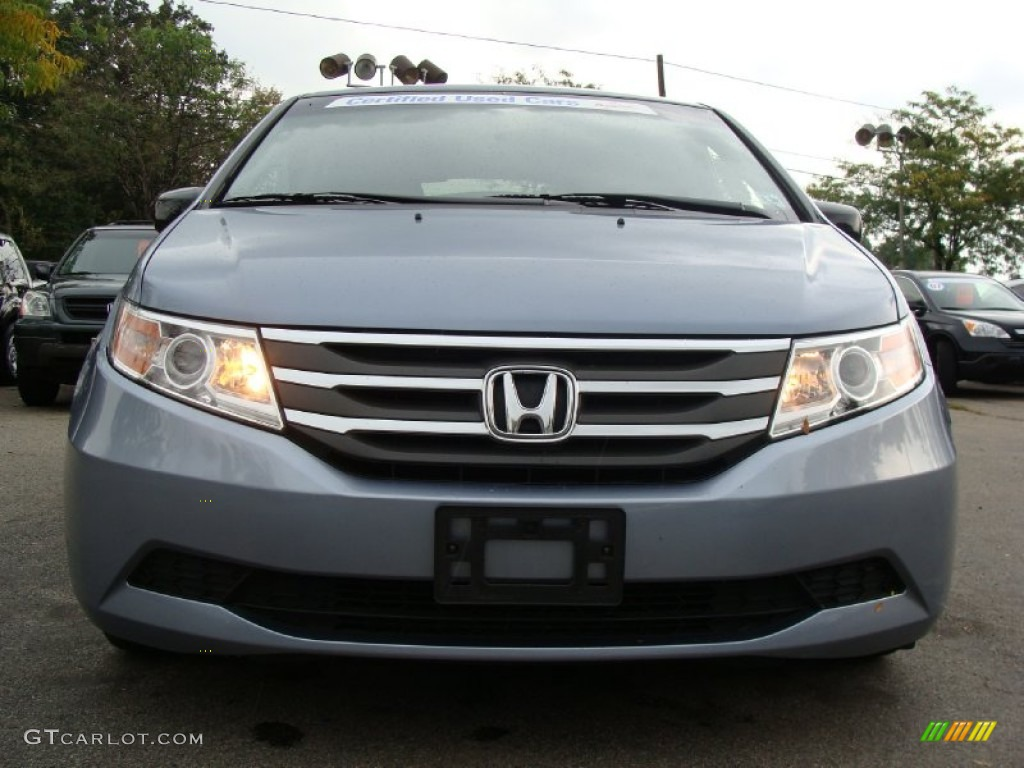 2011 Celestial Blue Metallic Honda Odyssey Ex L 54684370