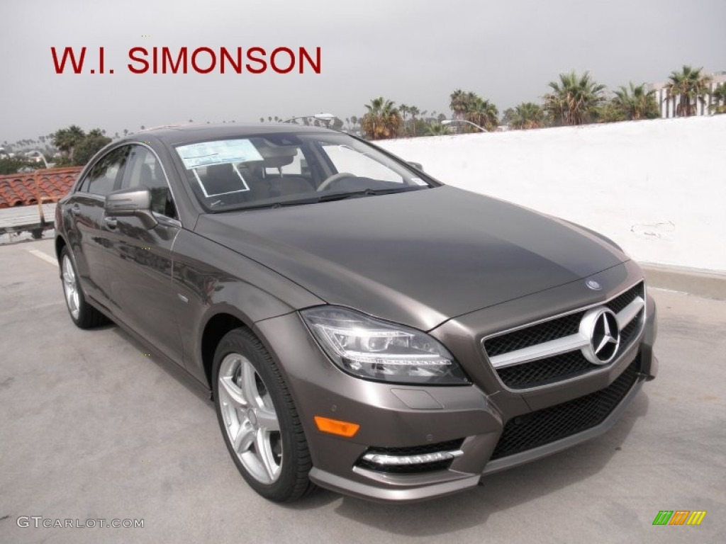 2012 indium grey metallic mercedes benz cls 550 coupe for Mercedes benz color