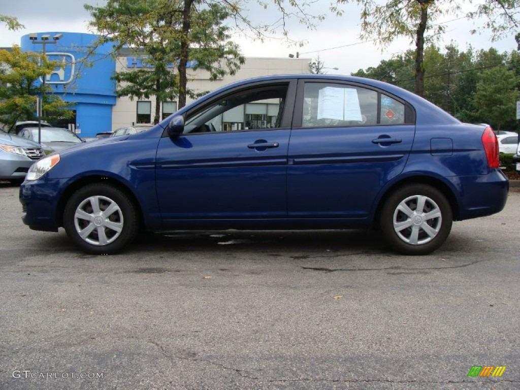 2006 Dark Sapphire Blue Hyundai Accent GLS Sedan 54684362