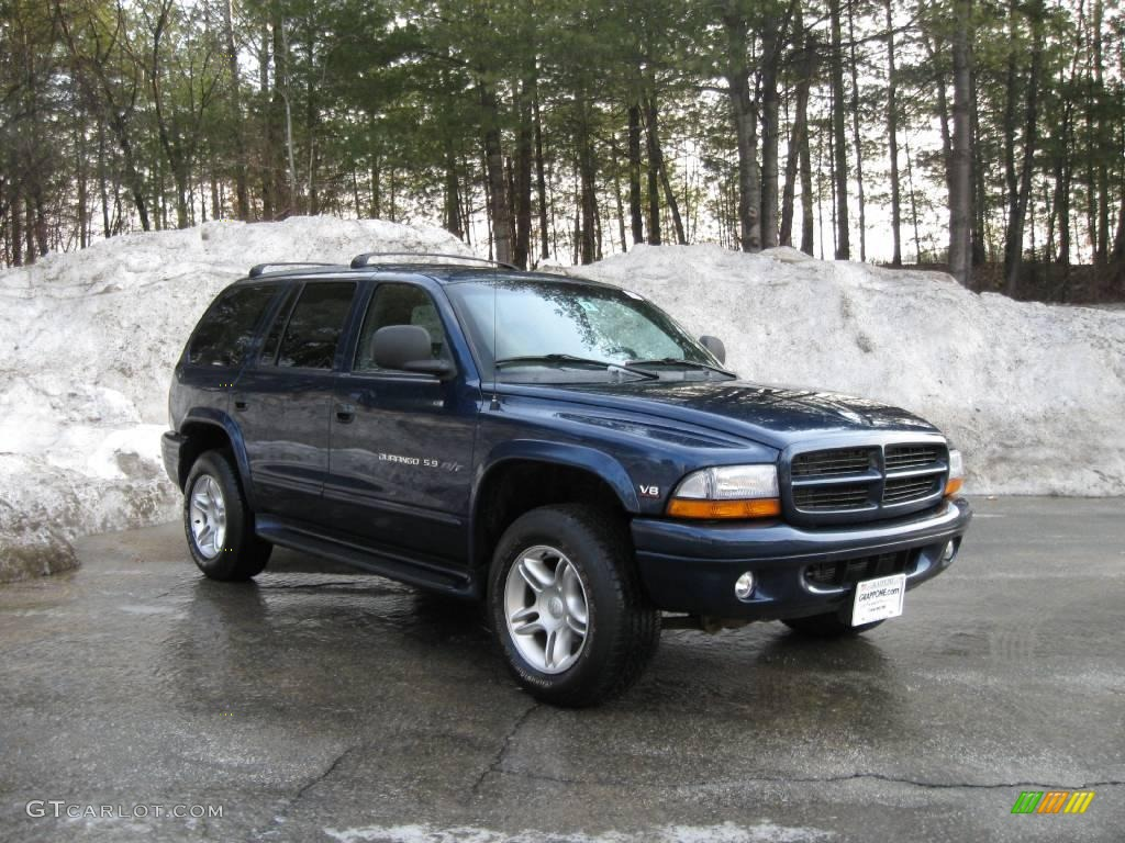 Patriot blue pearl dodge durango