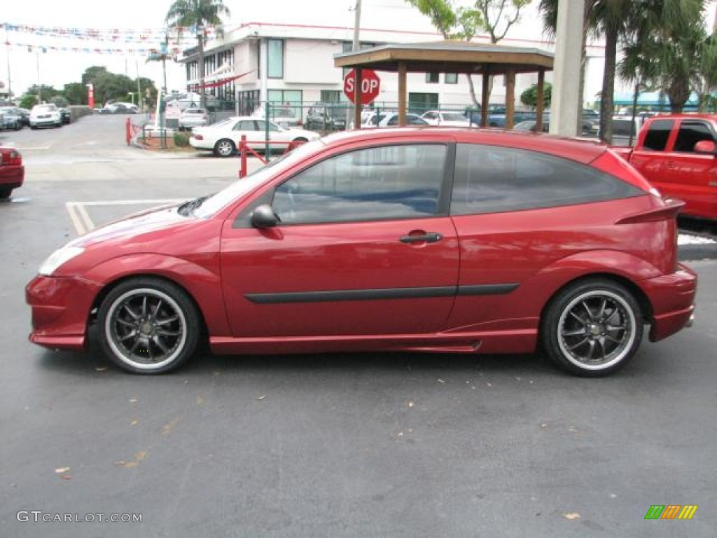 sangria red metallic 2002 ford focus zx3 coupe exterior. Black Bedroom Furniture Sets. Home Design Ideas