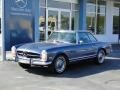 Blue Metallic 1971 Mercedes-Benz SL Class 280 SL Roadster