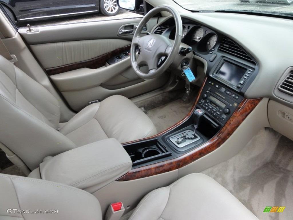 Parchment Interior 2002 Acura Tl 3 2 Type S Photo 54714301