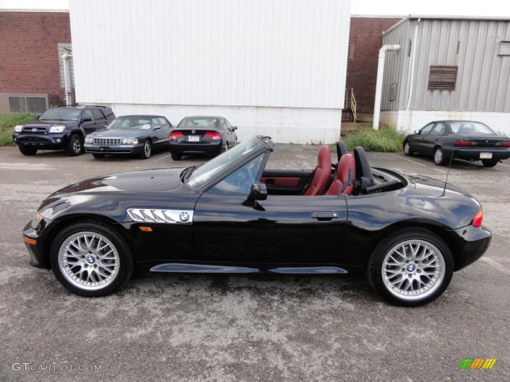 Jet Black 1998 Bmw Z3 2 8 Roadster Exterior Photo
