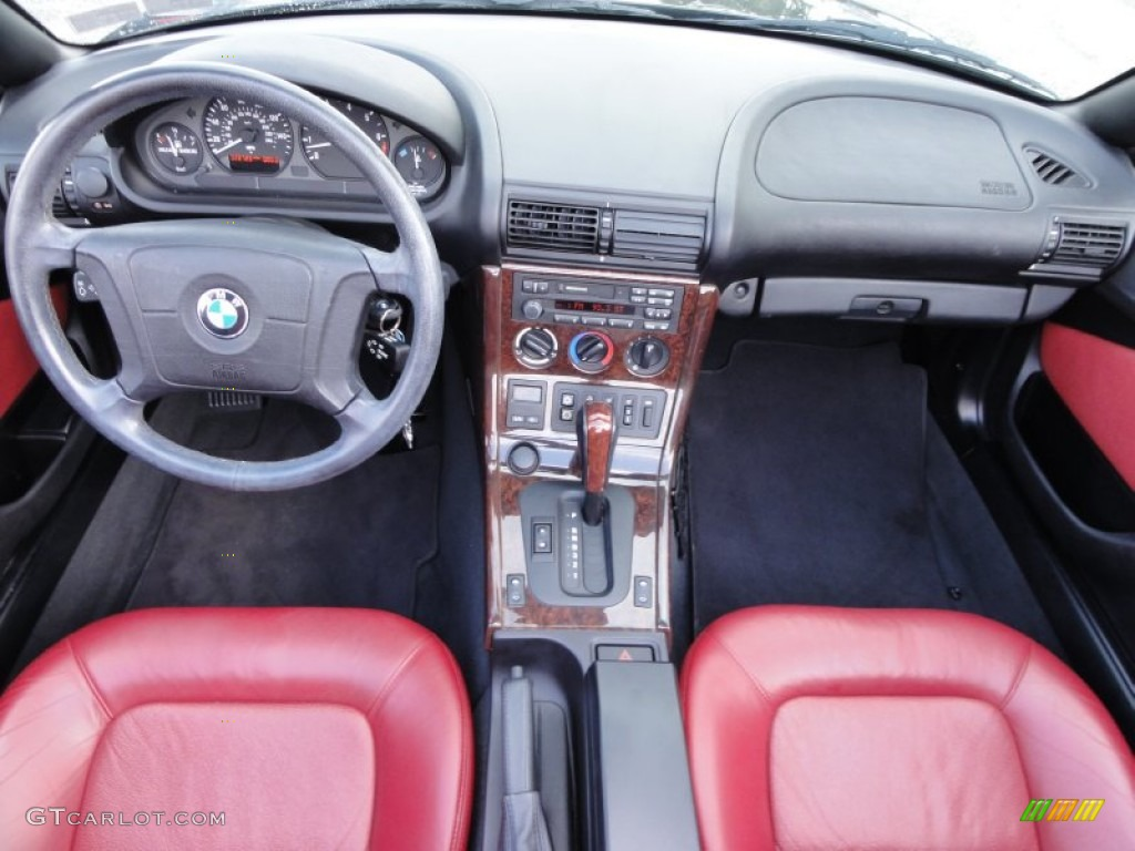 1998 Bmw Z3 2 8 Roadster Red Dashboard Photo 54715873