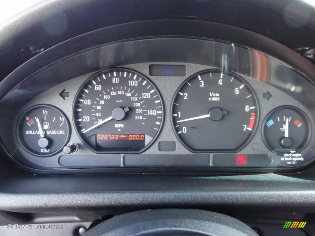 1998 Bmw Z3 2 8 Roadster Gauges Photo 54715926 Gtcarlot Com
