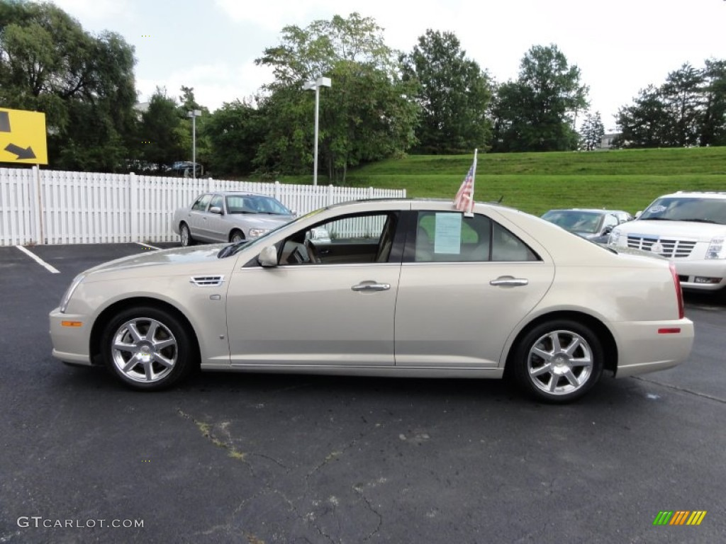 gold mist 2008 cadillac sts 4 v6 awd exterior photo. Black Bedroom Furniture Sets. Home Design Ideas