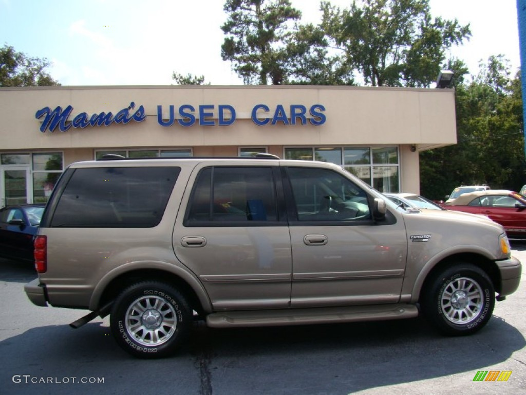 2002 arizona beige metallic ford expedition eddie bauer. Black Bedroom Furniture Sets. Home Design Ideas