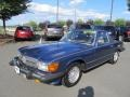 Nautical Blue Metallic 1985 Mercedes-Benz SL Class 380 SL Roadster