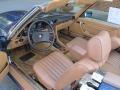 Brown 1985 Mercedes-Benz SL Class Interiors