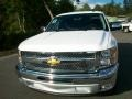 2012 Summit White Chevrolet Silverado 1500 LT Extended Cab  photo #5