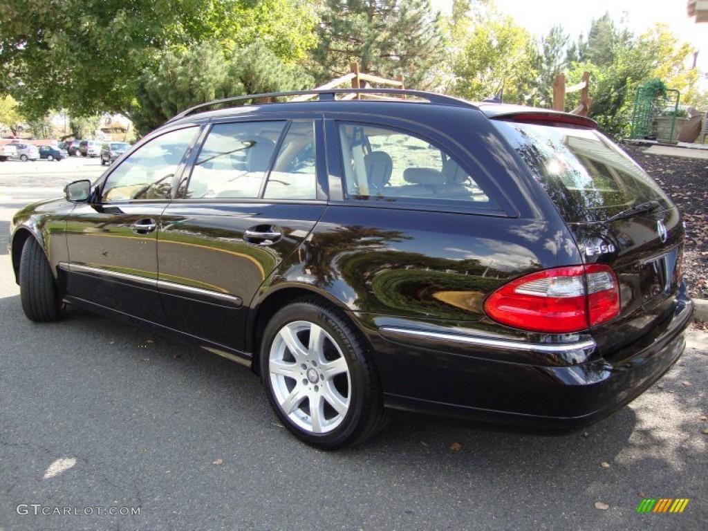 2008 Black Mercedes Benz E 350 4matic Wagon 54684142