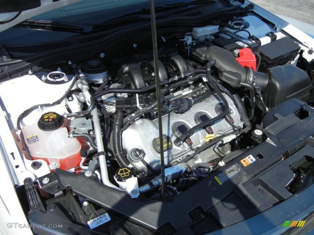 2012 Ford Fusion Sport 3.5 Liter DOHC 24-Valve VVT Duratec ...