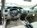 Dashboard of 2012 Civic LX Sedan