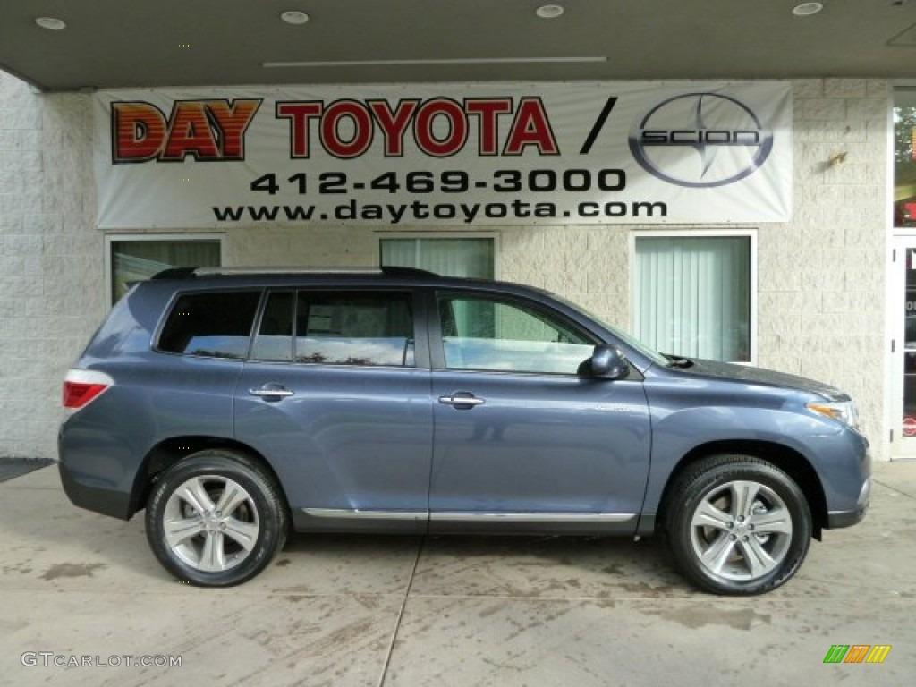 Black Interior 2012 Toyota Highlander Limited 4wd Photo 4