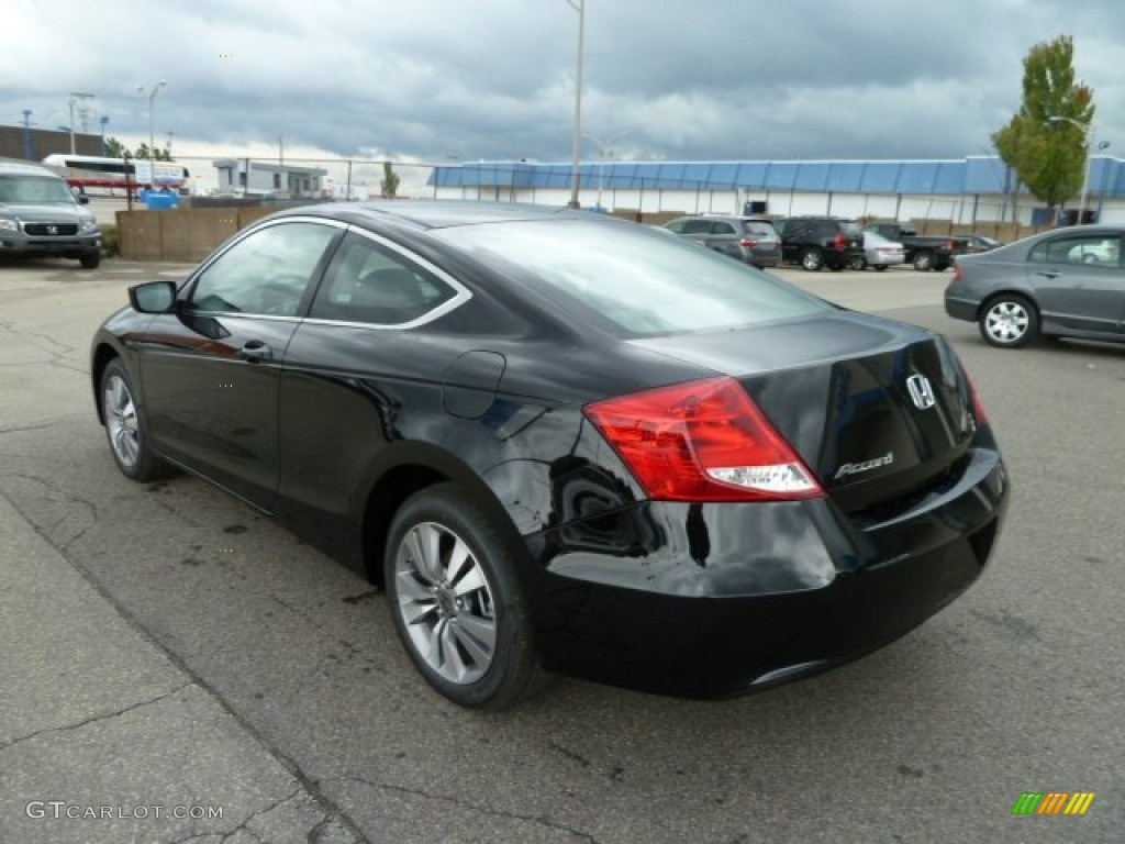 crystal black pearl 2012 honda accord lx s coupe exterior. Black Bedroom Furniture Sets. Home Design Ideas