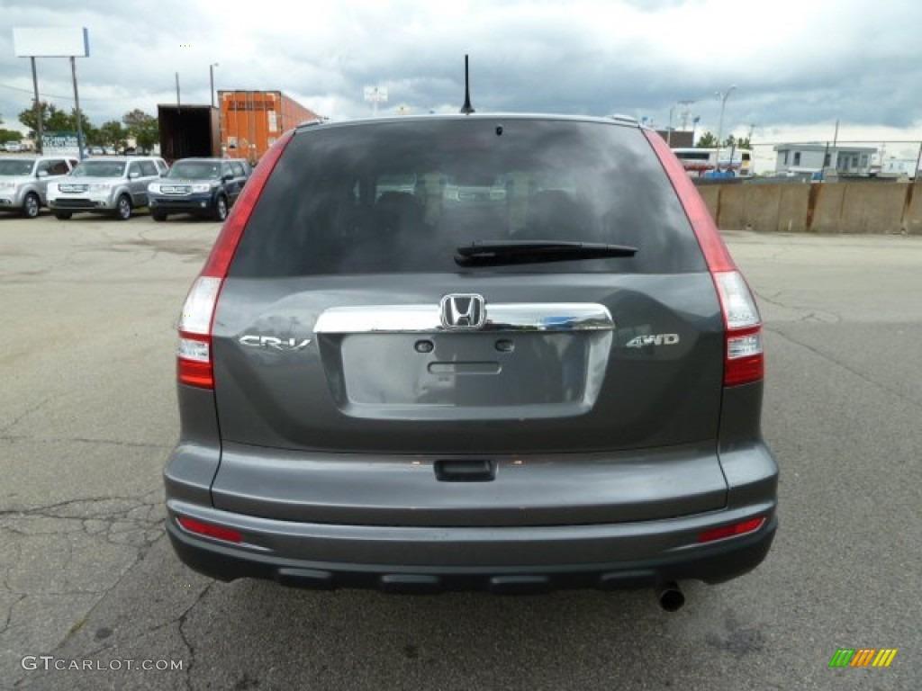 2011 CR-V EX 4WD - Polished Metal Metallic / Black photo #4