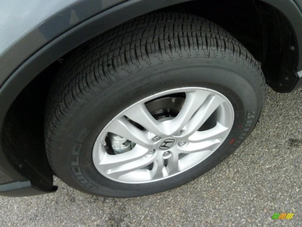 2011 CR-V EX 4WD - Polished Metal Metallic / Black photo #9