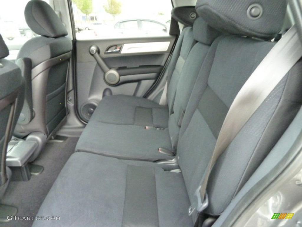 2011 CR-V EX 4WD - Polished Metal Metallic / Black photo #11