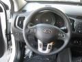 2012 Sportage LX Steering Wheel