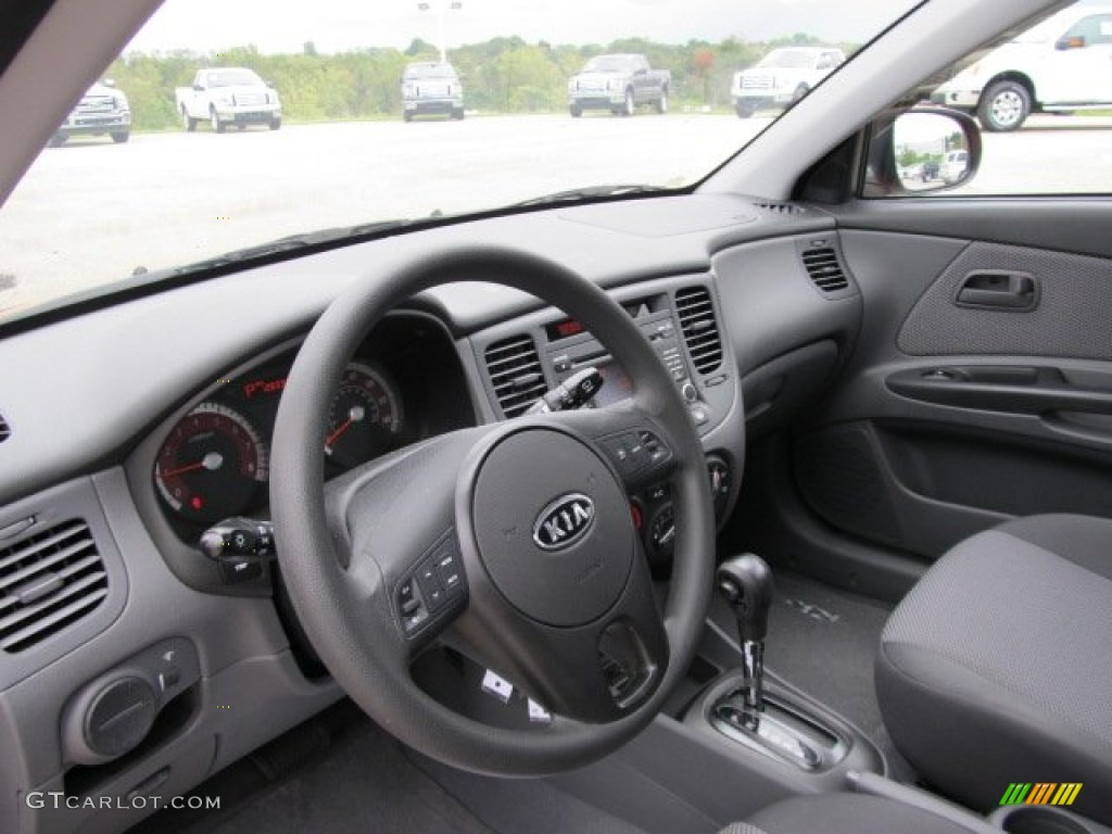 Gray Interior 2010 Kia Rio Rio5 Lx Hatchback Photo 54769344 Gtcarlot Com