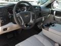 2011 Mocha Steel Metallic Chevrolet Silverado 1500 LT Extended Cab 4x4  photo #25