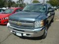 2012 Blue Granite Metallic Chevrolet Silverado 1500 LS Extended Cab 4x4  photo #1