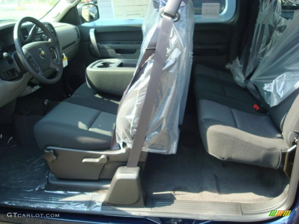 2012 Silverado 1500 LS Extended Cab 4x4 - Imperial Blue Metallic / Dark Titanium photo #3