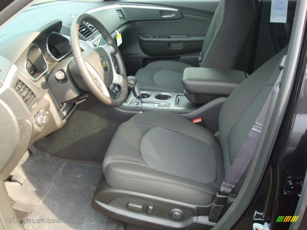 Ebony Interior 2012 Chevrolet Traverse Lt Awd Photo 54774267