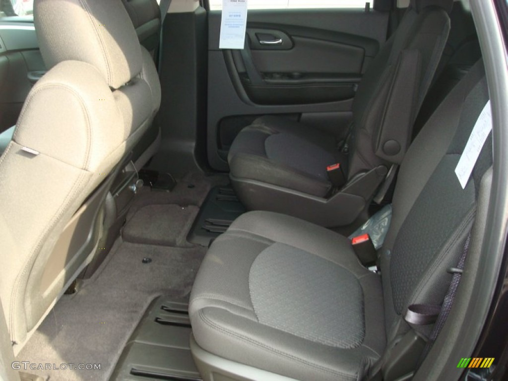 Ebony Interior 2012 Chevrolet Traverse Lt Awd Photo 54774276
