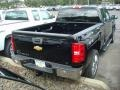 2012 Black Chevrolet Silverado 1500 LT Extended Cab 4x4  photo #2
