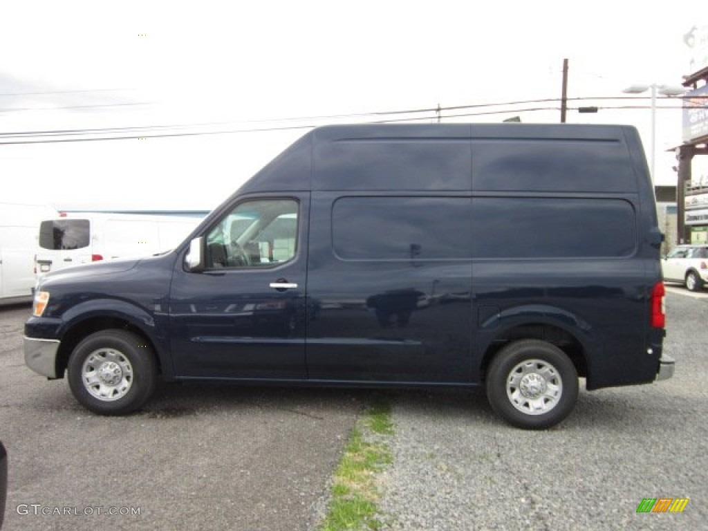 navy blue 2012 nissan nv 2500 hd sv high roof exterior photo 54776294. Black Bedroom Furniture Sets. Home Design Ideas
