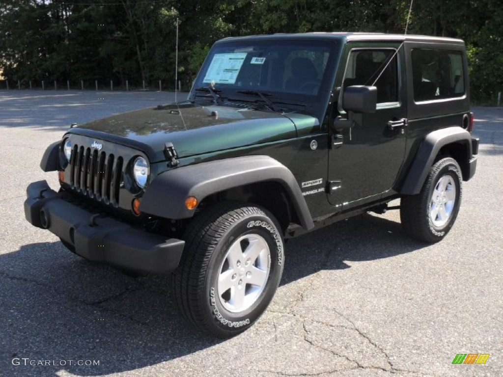 natural green pearl 2012 jeep wrangler sport s 4x4 exterior photo. Cars Review. Best American Auto & Cars Review