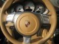 Sand Beige Steering Wheel Photo for 2007 Porsche 911 #54780495