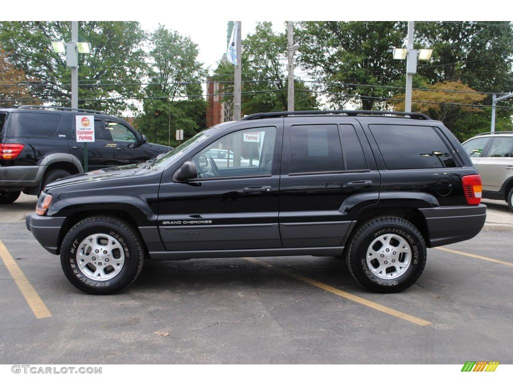 black 2002 jeep grand cherokee sport 4x4 exterior photo #54780996
