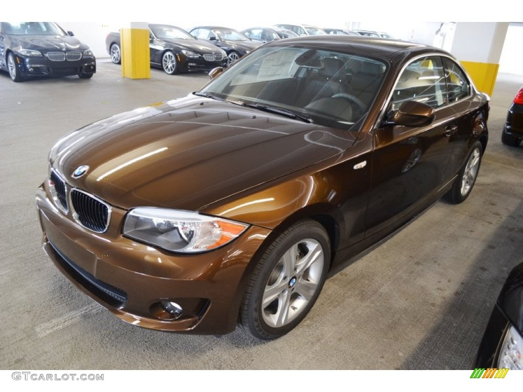 2012 Marrakesh Brown Metallic BMW 1 Series 128i Coupe 54738593