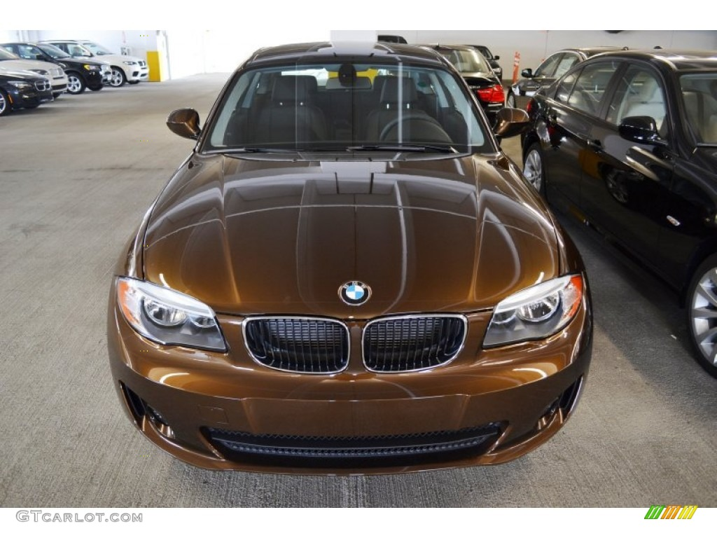 2012 Marrakesh Brown Metallic BMW 1 Series 128i Coupe 54738593