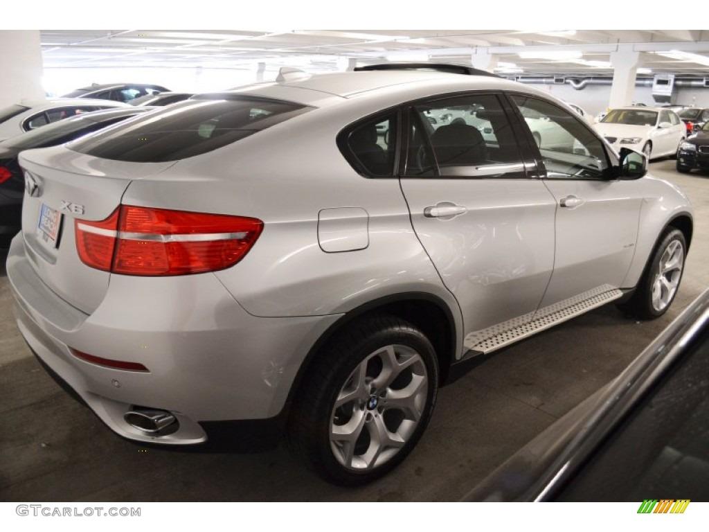 Titanium Silver Metallic 2012 BMW X6 XDrive35i Exterior Photo 54781383