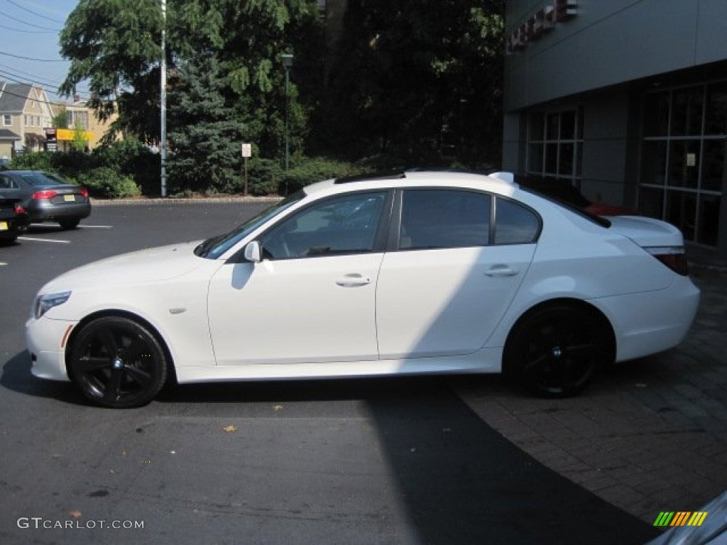 2008 BMW 5 Series 535xi Sedan Custom Wheels Photo 54783903