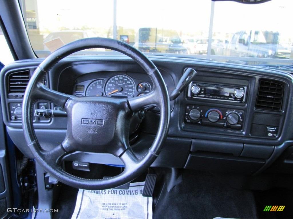 2002 GMC Sierra 1500 SLE Extended Cab 4x4 Dashboard Photos