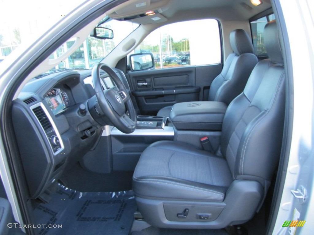 Dark Slate Gray Interior 2010 Dodge Ram 1500 R T Regular Cab Photo 54793459 Gtcarlot Com