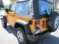 2012 Dozer Yellow Jeep Wrangler Sport 4x4  photo #2