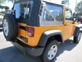 2012 Dozer Yellow Jeep Wrangler Sport 4x4  photo #3
