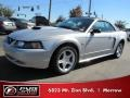 2001 Silver Metallic Ford Mustang GT Convertible  photo #1