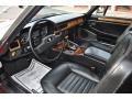 Black 1988 Jaguar XJ Interiors