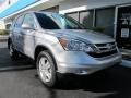 2011 Alabaster Silver Metallic Honda CR-V EX-L  photo #1